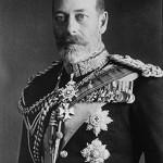 Koning George V van Saksen-Coburg en Gotha later Windsor